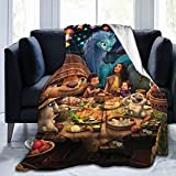 Super-Soft Ray-a and-The Last Dragon Blanket,Sofa Bed Blanket, Suitable for Birthday for Friends and Relatives 50'X40'