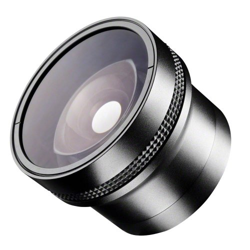 Walimex Fish-Eye Vorsatzobjektiv und Makrovorsatz 0,25 x 52mm
