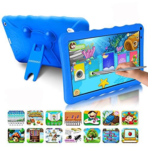 Tablet para Niños con WiFi 9.0 Pulgadas 3GB RAM 32GB/128GB ROM Android 9.0 Pie Certificado por Google GMS Tablet Infantil 1.5Ghz Quad Core Batería 6000mAh Tablet PC Netflix Juegos Educativos(Azul)