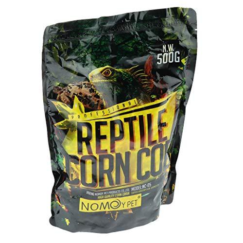 PETSOLA Reptil Terrario Lecho Sustrato Maíz Mazorca, 500 G