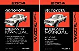 Materials Reprinted Under License from Toyota Motor Sales, U.S.A., Inc., License Agreement TMS1012. Tacoma approx 3080 pages Body, Chassis, Engine, Drivetrain & Electrical NO WIRING DIAGRAMS