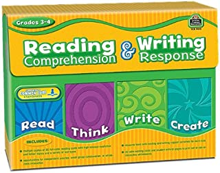Teacher Created Resources Reading Comprehension and Writing Response (9015)