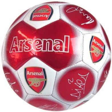 Arsenal FC. Very popular 'Signature' Soccer 5 - Ball Size excellence