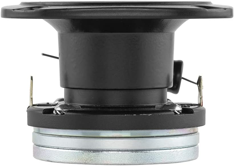 240W Max - Silver PRO Tweeters are The Best in The Pro Audio and Voceteo Market DS18 PRO-TWX1 Super Tweeter in Silver 4 Ohms Aluminum Frame and Diaphragm Pair Built in Crossover 1