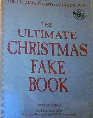 Price comparison product image The Ultimate Christmas Fake Book
