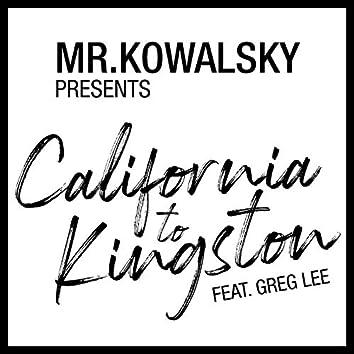 California to Kingston