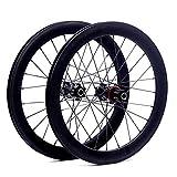 GJZhuan SILVEROCK SR40 20' 406 451 de la aleación de Ruedas Lamer Disco de Freno de Alto Perfil 74 100 130 135 for Triciclo Plegable Minivelo Ruedas de la Bici (Color : 406 74 135)