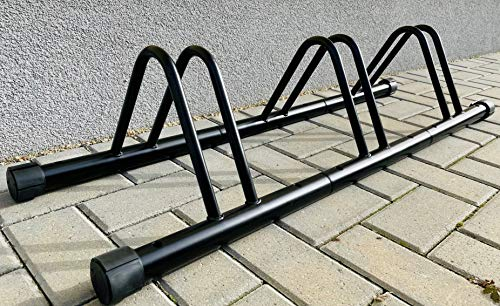 Fahrradparkplatz für bis zu 3 Fahrräder Fahrradständer Fahrradhalter Boden und Wandmontage jurfahr T039
