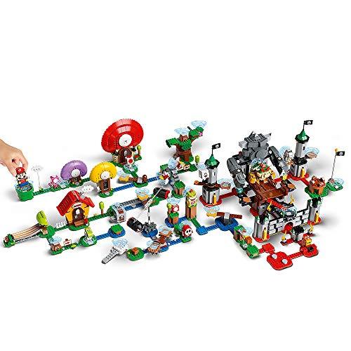LEGO Super Mario Gran Pista - Set con Pack Inicial 71360 y 4 Expansiones