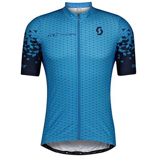 Scott RC Team 10 Fahrrad Trikot kurz Midnight blau 2021: Größe: L (50/52)