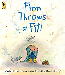 Finn Throws a Fit book about temper tantrums