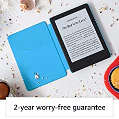 Kindle Kids   Includes access to over a thousand books, Blue Cover #3