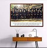 DAQIANSHIJIE Fotos von Einstein und vielen Physikern auf