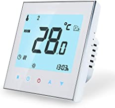 Termostato Calefaccion calentamiento de agua - Termostato Digital Inteligente Wifi Compatible con Alexa Google Home,contro...