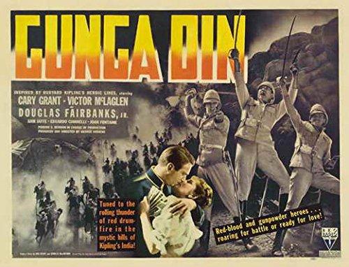 Gunga Din POSTER Movie (22 x 28 Inches - 56cm x 72cm) (1939) (Half Sheet Style B)