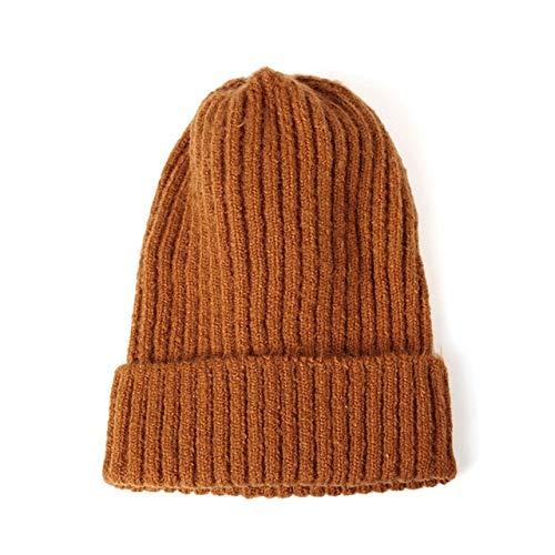 New Womens Beanie Hat warme Herbst Frauen Strick Beanie Hat Manschette Beanie Watch...