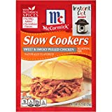McCormick Slow Cookers Sweet & Smoky Chicken Seasoning Mix, 1.25 oz (Pack of 12)