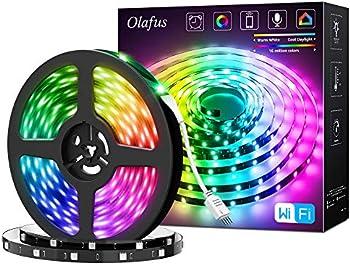 Olafus 32.8ft WiFi Smart LED Strip Lights