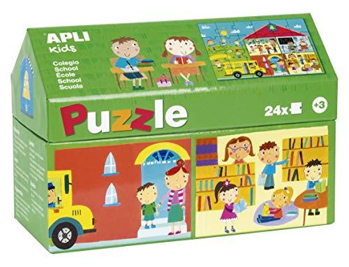APLI Kids - Puzzle casita Escuela