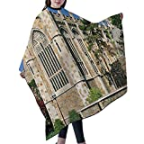 SUPNON Professional Salon Cape Polyester Cape Hair Cutting Cape, Water And Stain Resistant Apron, 55'x66', University Of Michigan Law School Ann Arbor. Clear Blue Sky, IS117044