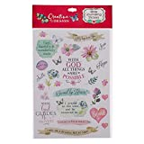 Christian Art Gifts Colorful Stickers for Bible Journaling or Adult Coloring, Scrapbooking or Craft Stickers