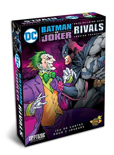 Don't Panic Games- DC Comics Deck-Building Game : Rivals, Batman VS Joker [Version Française], GAME1045, [Extension N°3], 20 x 15,6 x 3,8 cm
