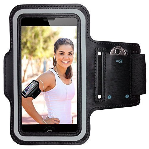 V4INK Sport Adjustable Armband for iPhone 6S/6/5C/5S,iPod MP3 Player and Most of 4.7
