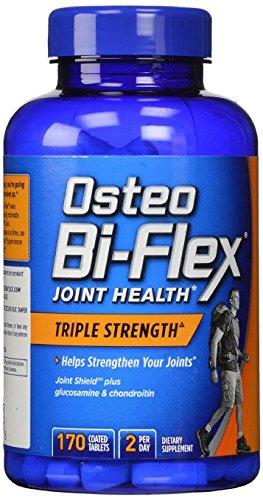Osteo Bi-Flex Triple Strength with 5-Loxin Advanced Joint Care - 170 Caplets (Pack of 2) (Osteo Bi Flex Triple Strength With 5 Loxin)