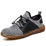 Zapatos de Seguridad S3 para Hombres Zapatos de Acero con Punta de Seguridad Zapatillas Deportivas Ligeras e Industriales Transpirables