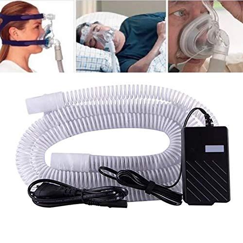Beheizter Schlauch für CPAP-Maschine Universeller CPAP-Heizschlauch Warmer Atemschlauch Verhindert die Kondensationsluft des Luftbefeuchters, 70.8IN(180CM)
