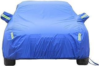 Autoplanen Kompatibel mit dem BMW i8 Coup/é Car Cover Sonnenschutz Wasserdichter Staubschutz und Eisschutz in Allwetter-Car Cover Atmungsaktive Autokleidung Outdoor Indoor Sedan Cover Color : Blue