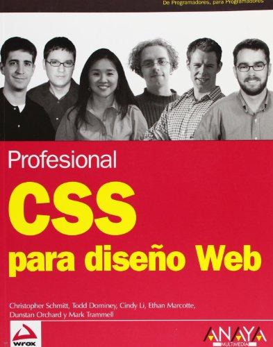 CSS para diseño Web (Anaya Multimedia/Wrox)