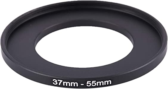 SODIAL R  Camera 37mm 55mm Metal Step Ring Adapter...
