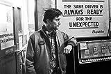 Mini-Poster Robert De Niro im Taxi Driver, 28 x 43 cm