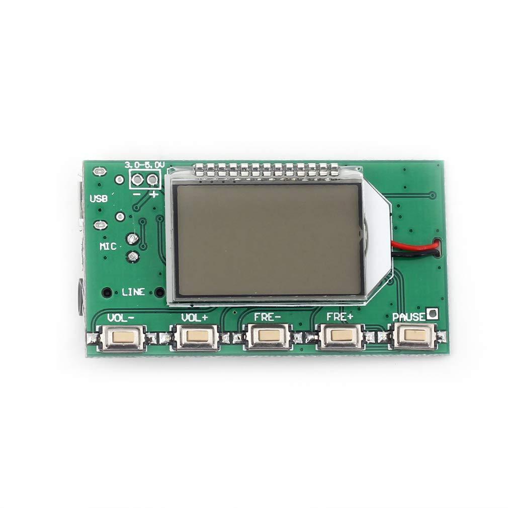 FM Transmitter Pickup Pick up Module Mini Wireless Microphone MIC Wireless Audio Transmitter FM Emission MIC Core Board V4.0