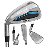 Cleveland Golf 2018 Men's Launcher CBX Iron Set (Set of 7 total clubs: 4-PW, Left Hand, Senior, Graphite)