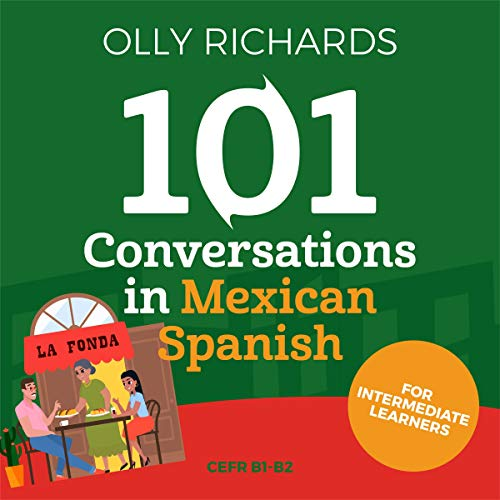 『101 Conversations in Mexican Spanish』のカバーアート