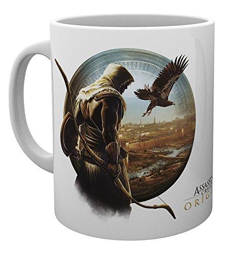 GB eye Taza Assassins Creed Origins Eagle, Madera, Multicolor, Unico