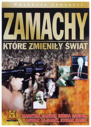 Zamachy ktĂlre zmieniĹy Ĺwiat 02: Mahatma Gandhi / Indira Gandhi / Anwar As-Sadat / Icchak Rabin (slim) [DVD]...