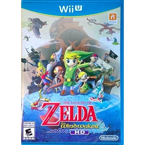 Amazon com: The Legend of Zelda: The Wind Waker HD: Nintendo