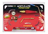 Goss KA-1H Soldering Kit for Use with 'B' Acetylene Tanks with Economical BA-3 Feather Flame Tip