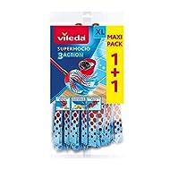 Vileda Supermocio 3Action Xl Refill, Pack of 2