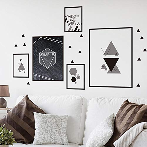 Creative 3D Stereo Wall Sticker Wall Wall Sticker Single Black and White Photo Frame_Big