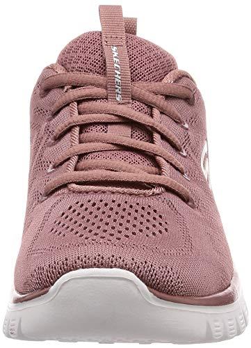 Skechers Graceful Get Connected, Zapatillas Mujer, Pink, 39 1/3 EU