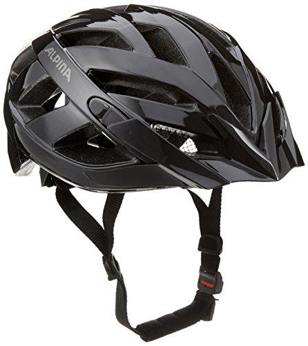 ALPINA PANOMA CLASSIC Fahrradhelm, Unisex– Erwachsene, black, 52-57