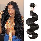 Tinall Hair Brazilian Virgin Human Hair Bundles Body Wave One Bundles 8 Inch 100% Unprocessed Virgin Human Hair Body Wave Human Hair Bundles Natural Color 100g/Bundles