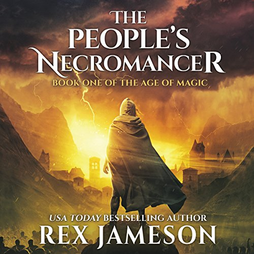 The People's Necromancer audiobook cover art