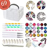 Best Nail Kits - AIFAIFA 69PCS DIY Nail Art Tools Decoration Manicure Review