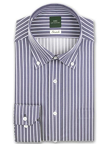 SMC(シャツメーカーチョーヤ)『Stretch 長袖 ワイシャツ(CMD-931-455)』
