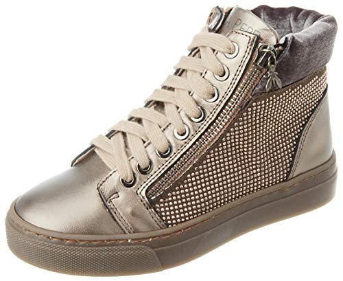 Patrizia Pepe PPJ536 Sneaker, Bronze, 40/40.5 EU